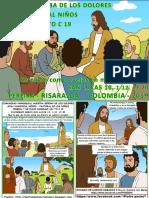 HOJITA EVANGELIO NIÑOS DOMINGO XIV TO C 19 SERIE