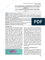 ANTIOXIDANT, ANTIMICROBIAL AND SPF PROTECTIVE ACTIVITY OF CUCURBITA MOSCHATA, CUCURBITA RETICULATA AND CLITORIA TERNATEA