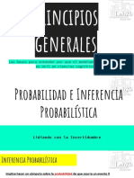 General Principles of Probability and Statistical Inference