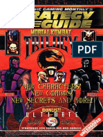 Electronic Gaming Monthly Mortal Kombat Trilogy Supplement U