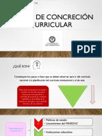 Niveles de Concreción Curricular (1)