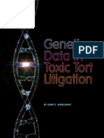 Marchant Genetics in Toxic Tort Litigation 2016