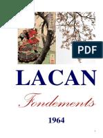 Le Séminaire XI – Fondements de la psychanalyse (Jacques Lacan)