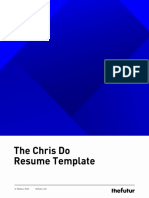 Chris Do Resume Template
