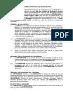 Convenio Especifico de Cesión en Uso