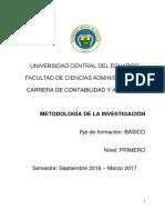 Sílabos de Metodología 2016 CA