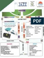 Iowa City 2019 Jazz Festival Program and Map