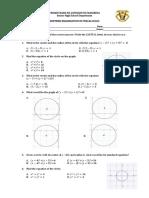 Precalculus Midterm Exam