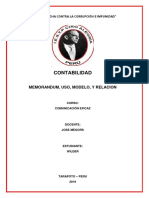 Monografia Memorandum