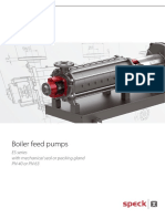 SPECK Boiler Feed Water Pumps