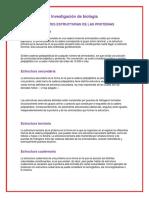 DIFERENTES ESTRUCTURAS DE LAS PROTEINAS  2.docx