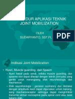 Prosedur Joint Mobilization Revisi