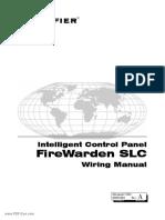 Notifier Intelligent Control Panel FireWarden SLC Wiring Manual