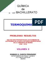 3.3 - TERMOQUÍMICA - PROBLEMAS RESUELTOS DE ACCESO A LA UNIVERSIDAD (II)