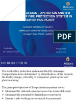 active and passive fire protection system