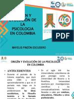 Origen y Evolucion de La Psicologia en Colombia