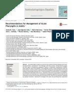 Journal Elsevier Manajemen Faringitis Akut