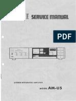 Akai AM U5 Service Manual
