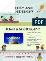 1-Sociology and Anthropology