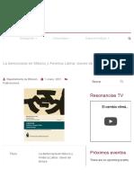 La Democracia en México y América Latina