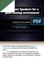 Tune Your Speakers