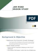 Belair Road Corridor Study Presentation
