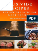 Sous Vide Recipes Italian Traditional Meat Recipes - Easy recipes for beginners.epub