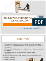 4 Tecnicas Operativas de La Recepción (1)