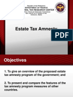 Estate Tax Amnesty