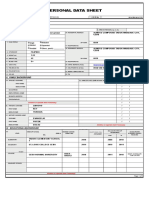 Pds Personal Data Sheet Teacherph.com