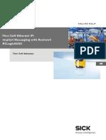 Online Help Flexi Soft Ethernet IP Implicit Messaging Mit Rockwell RSLogix5000 en IM0047281