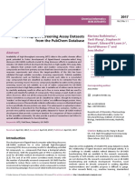 Highthroughput Screening Assay Datasetsfrom the Pubchem Database