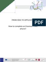 Completare Furmulra Erasmus KA1