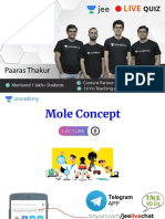 L8 Mole Concept