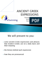 Ancient Greek expressions