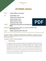Informe Legal - Internacional Publico