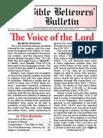 08-Aug Bible Believers Bulletin