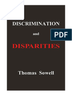 discrimination and disparities by thomassowell