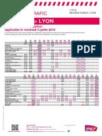 Nevers-Lyon 5 juillet