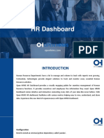 HR Dashboard - HR Management Software