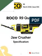 Oco r9 Quarry Spec Sheet