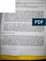 Philippine Coast Guard Initial Report on Recto Bank Incident