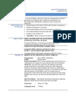 Jaya Software Resume