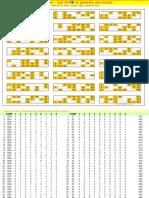 36929010 Bingo Housie Ticket Generator Excel Sheet