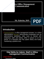 Effective Office Management Communication.ppt