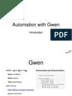 Gwen Web Intro