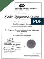 5) Risk Management Certificate