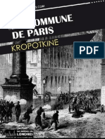 La Commune de Paris - Kropotkine