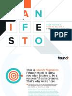 Foundr Manifesto