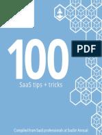 SaaStr 100SaaS Tips